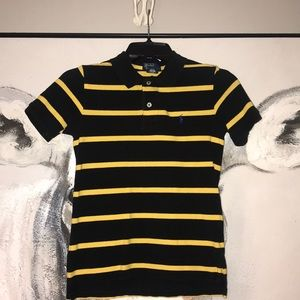Kids Sz S(8-10) striped Polo